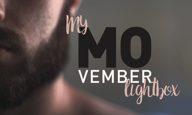 My Movember Lightbox