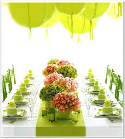 baby shower decor flowers