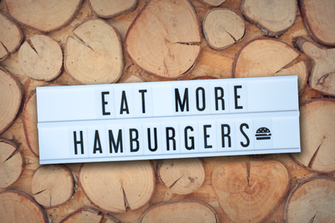 quotes for foodies hamburger my cinema lightbox