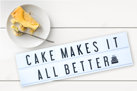 quotes for foodies cake my cinema lightbox