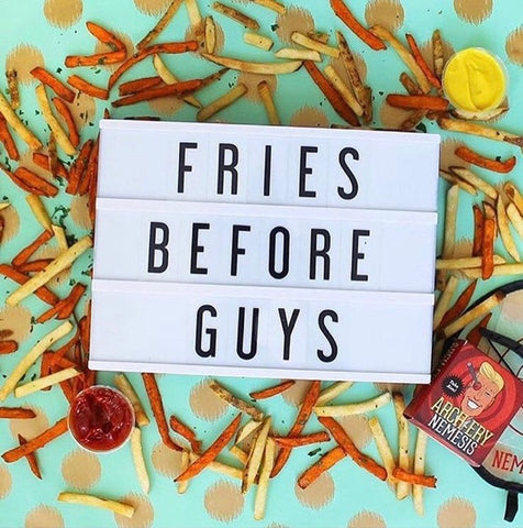 quotes for foodies fries my cinema lightbox