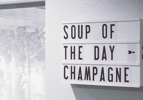 quotes for foodies champagne my cinema lightbox
