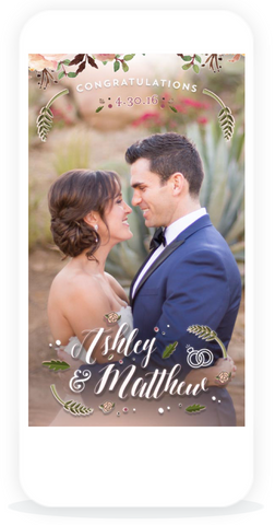 snapchat wedding geofilter