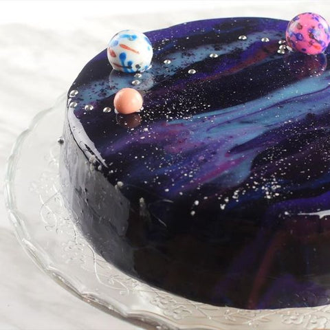 Instagram Worthy Dessert Galaxy Cake