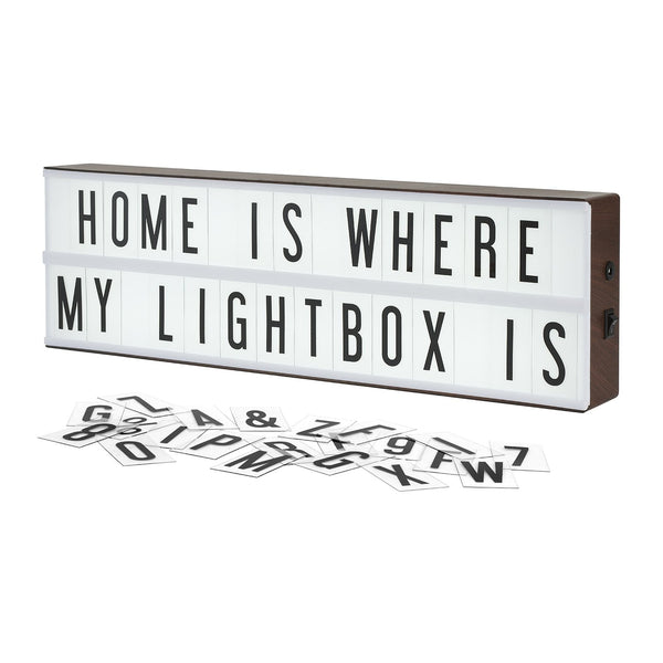The Vintage Cinema Lightbox