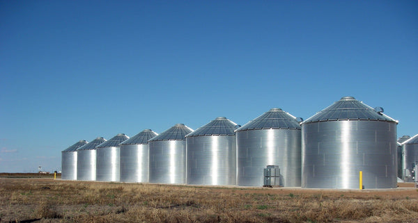 Grain Storage Bins and Silos