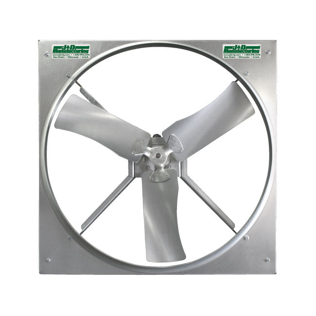 Panel Mount Fan 24 inch 10470 CFM 3 Phase Direct Drive VP243G