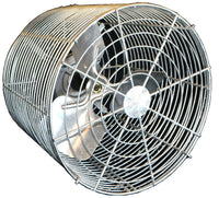 Galvanized Extended Basket Air Circulator Fan 12 inch 1635 CFM Variable Speed 12VT4GV