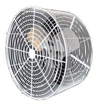 White Extended Basket Air Circulator Fan 12 inch 1635 CFM Variable Speed 12VT4WV