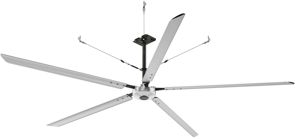 Hunter Titan 16 foot HVLS Ceiling Fan w/ Network Control 10000 Sq Ft Coverage 3 Phase 220V 72258