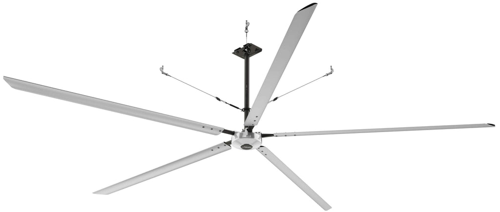 Hunter Titan 20 foot HVLS Ceiling Fan w/ Network Control 15625 Sq Ft Coverage 3 Phase 220V 72256