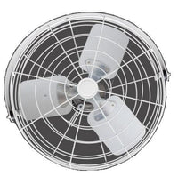 White Circulator Fan w/ Wide Guard 24 inch 6000 CFM Variable Speed 24B4WV-W