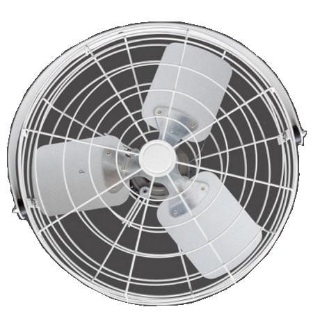 White Circulator Fan w/ Wide Guard 20 inch 3800 CFM Variable Speed 20B4WV-W