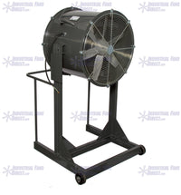 AirFlo Man Cooling Fan High Stand 48 inch 32000 CFM 3 Phase NM48LH-I-3-T