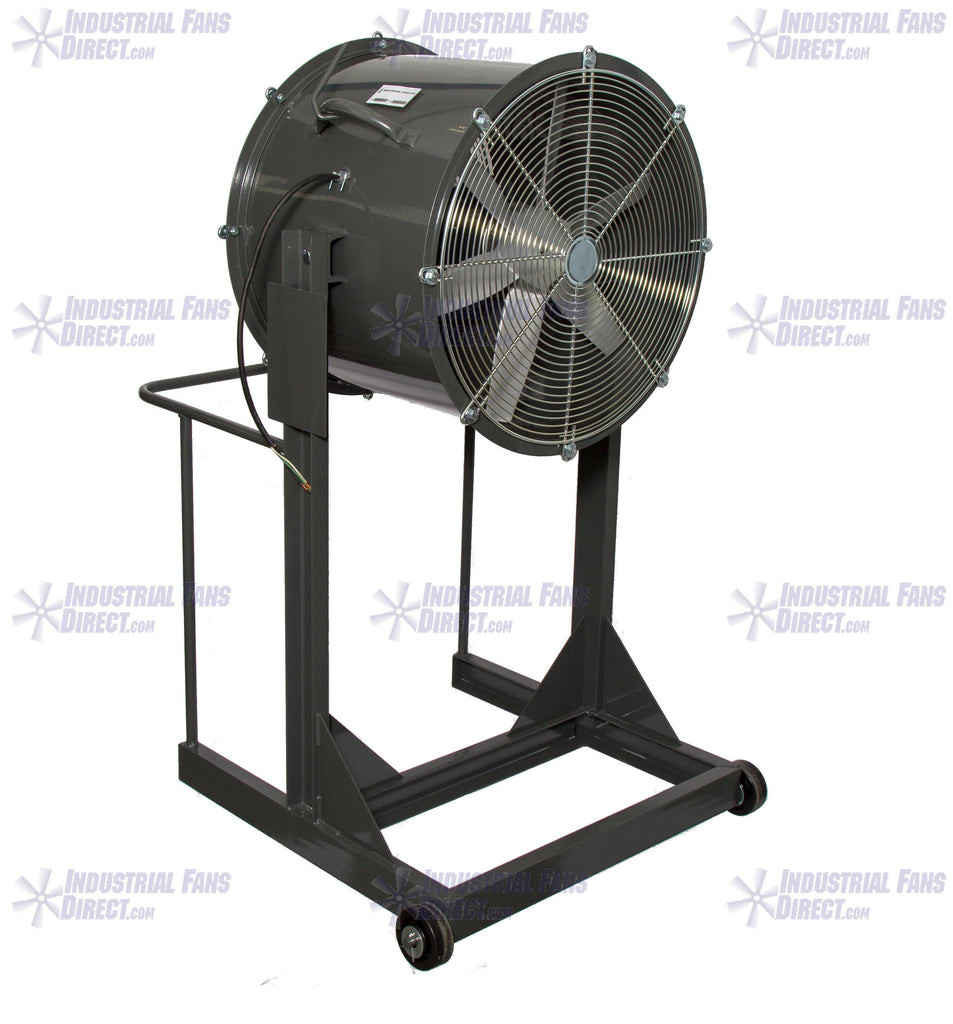 AirFlo Man Cooling Fan High Stand 42 inch 27000 CFM 3 Phase NM42H-I-3-T