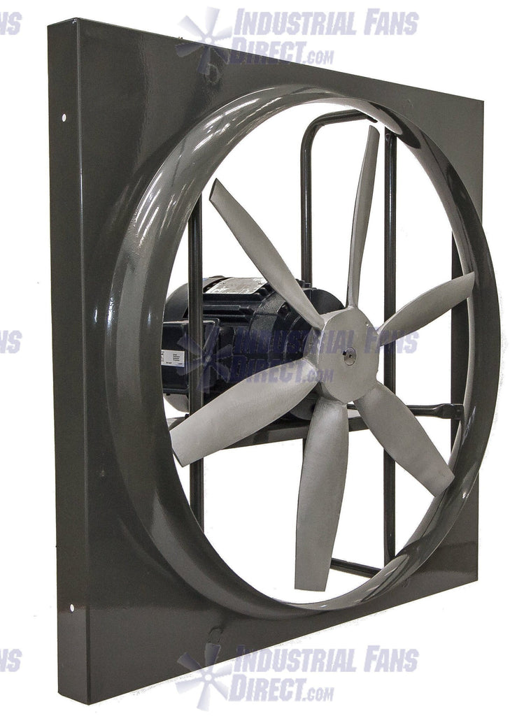Airflo 900 Panel Mount Exhaust Fan 12 Inch 1180 Cfm Direct Drive 3 Pha Industrial Fans Direct
