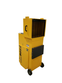 Yellow PRC Portable Industrial Air Cleaner w/ HEPA E11 Filter PRC-1200Y-E11