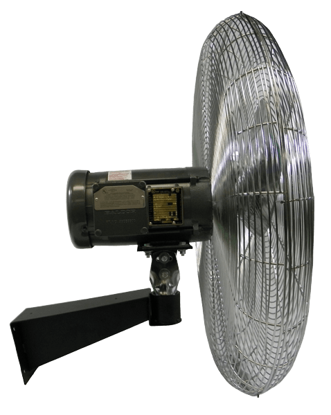 Heavy Duty Explosion Proof Circulator Wall Fan 24 inch 5738 CFM 3 Phase 20470K, [product-type] - Industrial Fans Direct