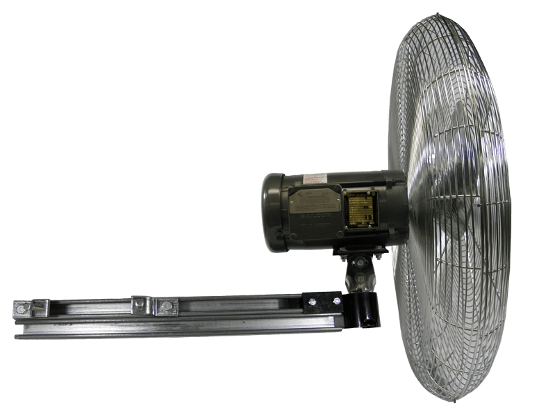 Heavy Duty Explosion Proof Circulator I Beam Fan 24 inch 5738 CFM 3 Phase 20490K, [product-type] - Industrial Fans Direct