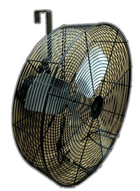 High Performance Show Animal Air Circulator Fan 24 inch 5850 CFM Variable Speed 24NFB4BS