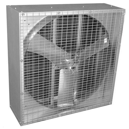 AirFlo Agricultural Box Exhaust Fan 24 inch 5618 CFM Direct Drive 24NFD370