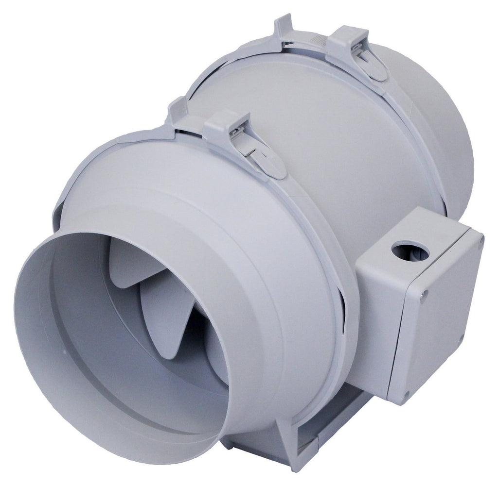 TD Mixvent Multi-Purpose Inline Duct Fan 6 inch 293 CFM TD-150