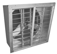 AirFlo Agricultural Slantwall Exhaust Fan w/ Shutter 36 inch 10840 CFM Direct Drive 36NFSWD370N