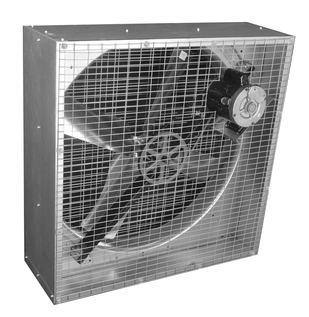 36 Inch Direct Drive Fans : Airflo agricultural box exhaust fan inch cfm belt