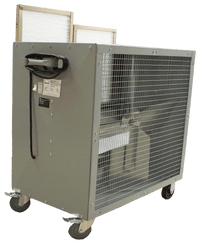 Portable Filtered Box Fan 2 Speed 30 inch 3606 CFM Belt Drive 39171, [product-type] - Industrial Fans Direct