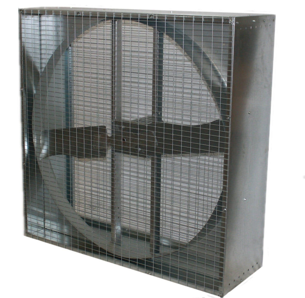 48 Direct Drive Exhaust Fans : Airflo agricultural box exhaust fan inch cfm