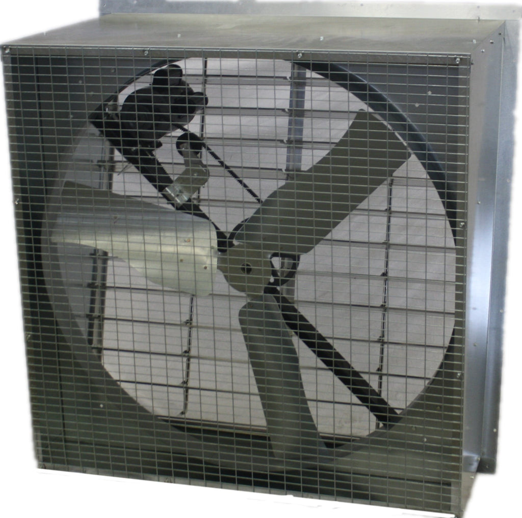 AirFlo Agricultural Slantwall Exhaust Fan 48 inch 19312 CFM Belt Drive 48NFSW750N