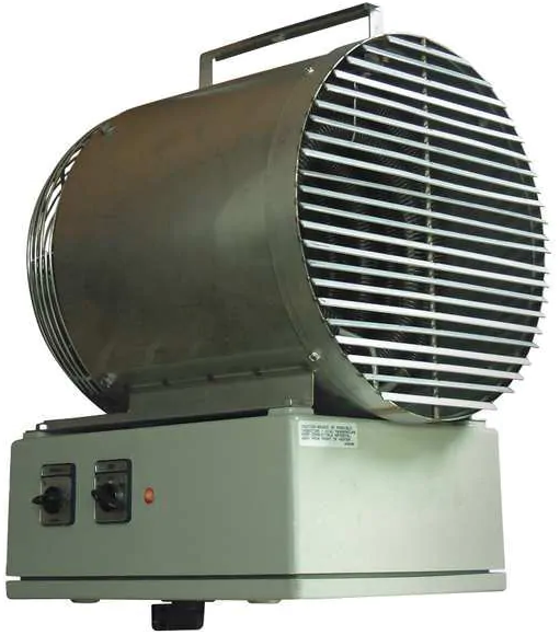 TPI 5500 Washdown Fan Forced Unit Heater 25KW 85325 BTU 480V 3 Phase P3P5525T