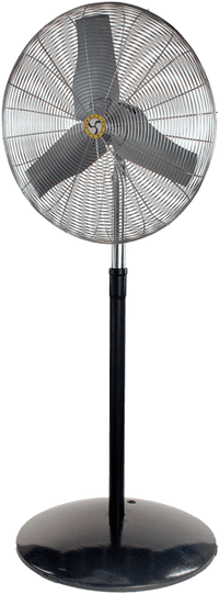 Industrial Oscillating Pedestal Fan 3 Speed 24 inch 5548 CFM 71567, [product-type] - Industrial Fans Direct