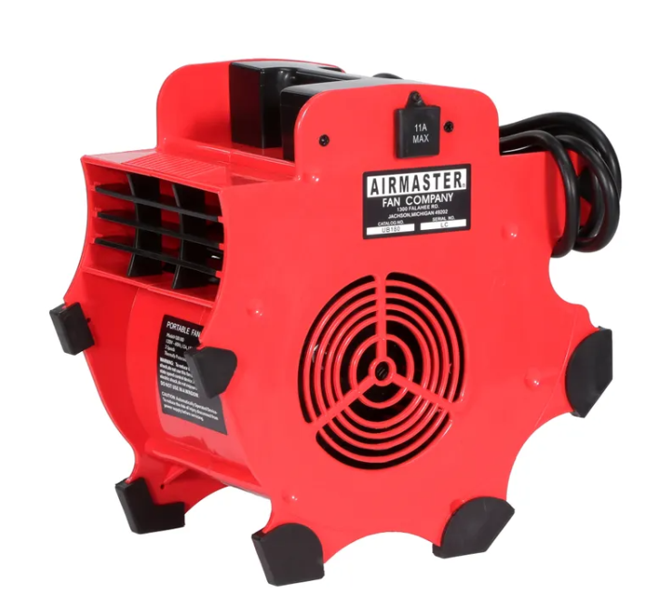 Airmaster Portable Utility Blower w/ Cord & Plug 3 Speed 300 CFM 120 Volt 78967