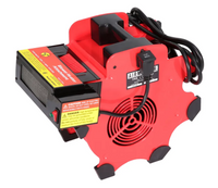 Airmaster Portable Utility Blower w/ Heater Attachment 300 CFM 120 Volt