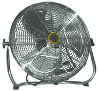 Low Stand Pivoting Air Circulator Fan 18 inch 2966 CFM 3 Speed 78974