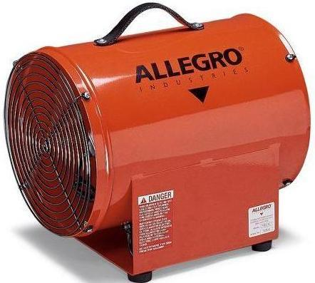 Confined Space Ventilator Blower 12 inch 1763 CFM 9509