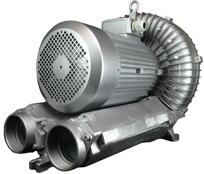 Atlantic Blowers Single Stage Regenerative Blower 4 inch 791 CFM 3 Phase AB-1200