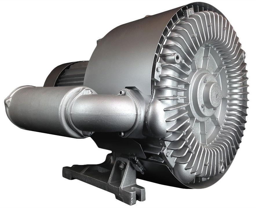 Atlantic Blowers Two Stage Regenerative Blower 2.5 inch 399 CFM 3 Phase AB-1202