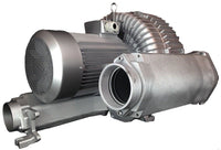 Atlantic Blowers Two Stage Regenerative Blower 4 inch 812 CFM 3 Phase AB-1802