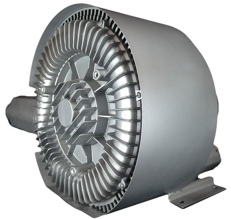 Atlantic Blowers Two Stage Regenerative Blower 2 inch 230 CFM 3 Phase AB-1002