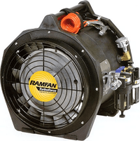 RamFan AB7000 Intrinsically Safe Pneumatic Air Driven Confined Space Ventilator 12 inch 2042 CFM