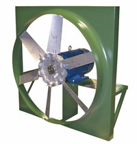 ADD Panel Mount Exhaust Fan 20 inch 6950 CFM Direct Drive ADD20T10100B, [product-type] - Industrial Fans Direct