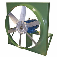 ADD Panel Mount Exhaust Fan 24 inch 9210 CFM Direct Drive 3 Phase ADD24T30200BM, [product-type] - Industrial Fans Direct