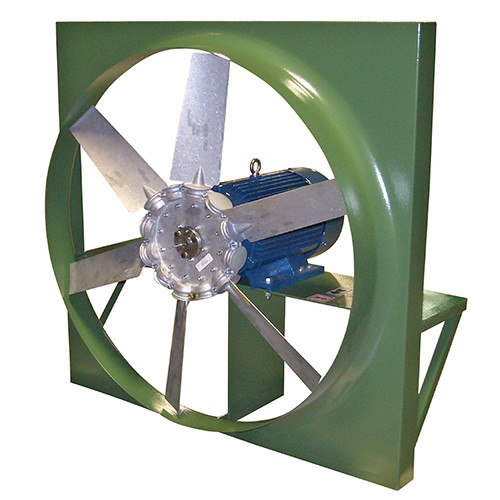 ADD Panel Mount Exhaust Fan 24 inch 7660 CFM Direct Drive 3 Phase ADD24T30150BM
