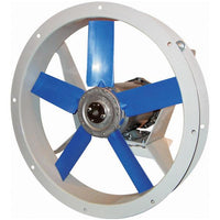 AFK Flange Mounted Fan 12 inch 2000 CFM 3 Phase Direct Drive (Choose Exhaust or Supply)