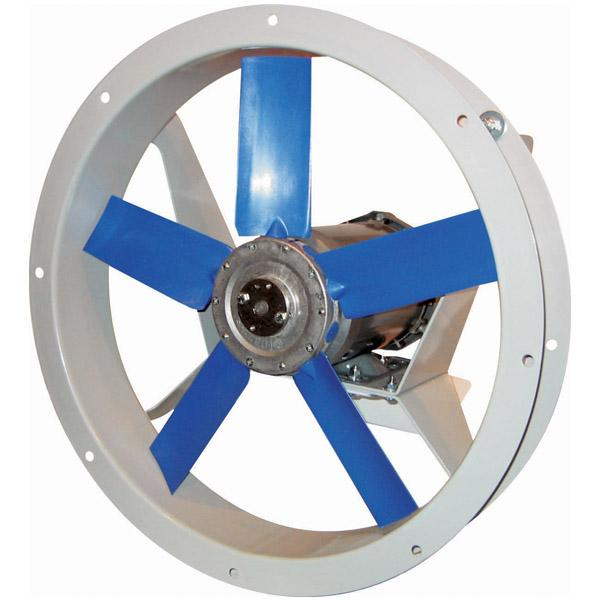 AFK Flange Mounted Fan 12 inch 1500 CFM 3 Phase Direct Drive (Choose Exhaust or Supply)