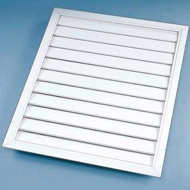 "Standard Ceiling Shutter For 48"" Fan AS26  ID: 36"" x 56"", [product-type] - Industrial Fans Direct"
