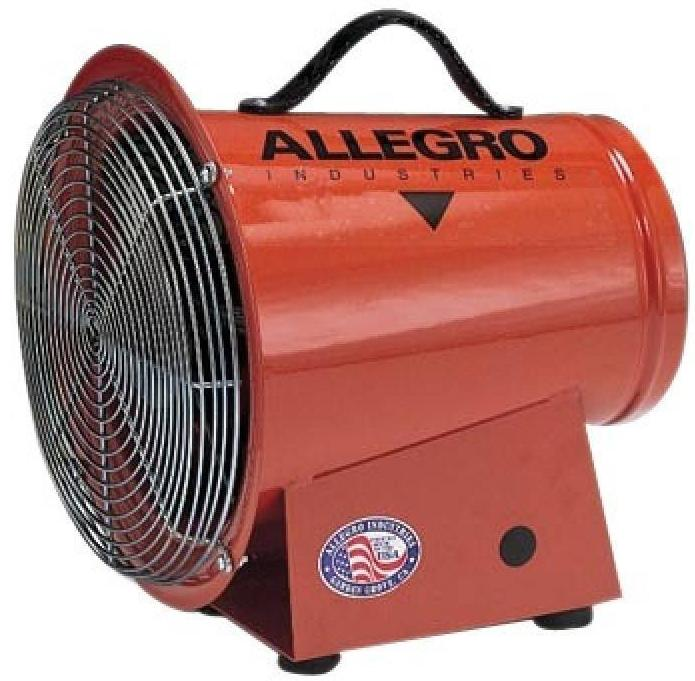 Confined Space Ventilator 8 inch 1275 CFM 9513, [product-type] - Industrial Fans Direct
