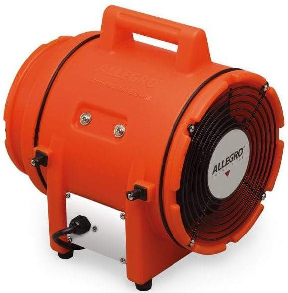 Explosion Proof Confined Space Axial Ventilation Blower 8 inch 900 CFM 9538